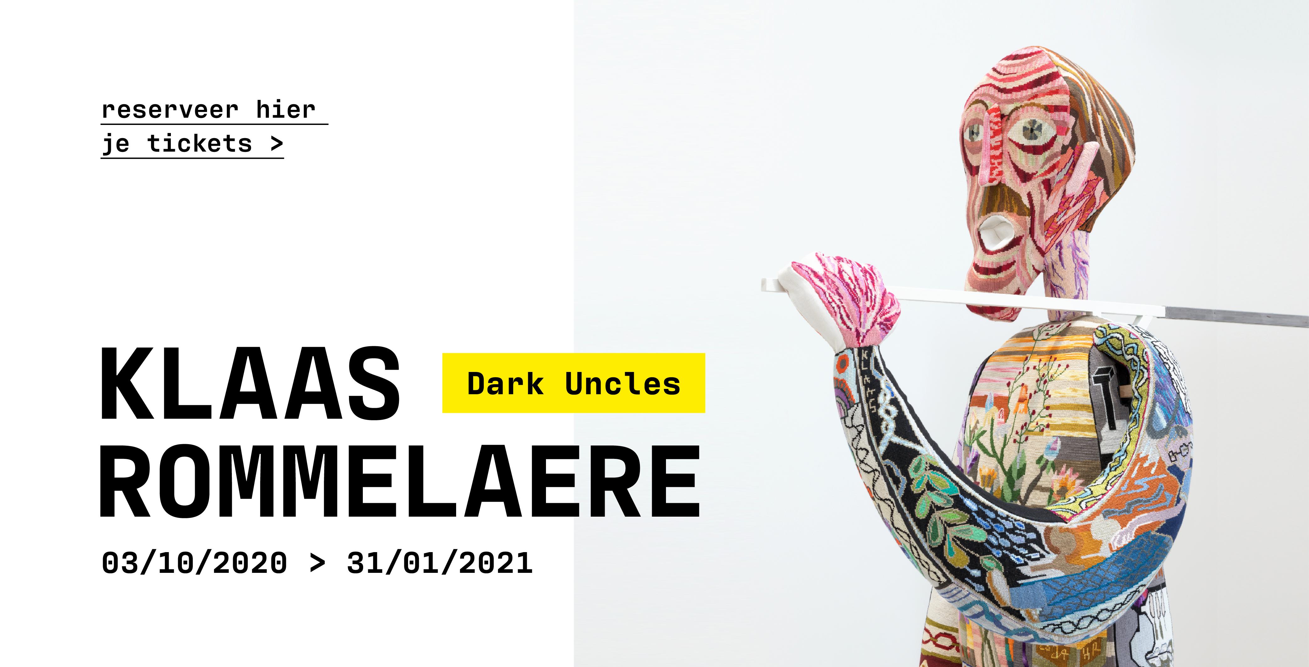 Expo Dark Uncles van Klaas Rommelaere in Texture
