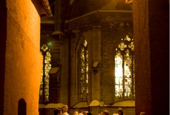 Avondwandeling erfgoed in Kortrijk